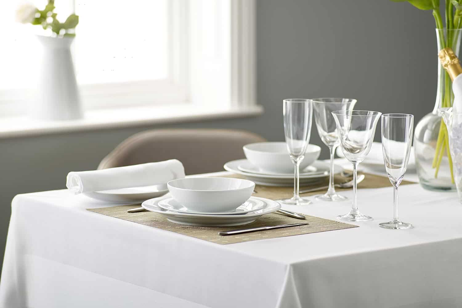 Table Linen – The Safer Way to Dine