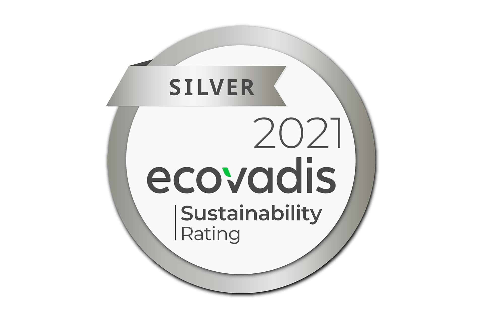 Silver EcoVadis Rating for Vision Linens